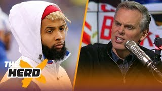 Colin Cowherd on the news that the New York Giants are open to trading Odell Beckham Jr. | THE HERD