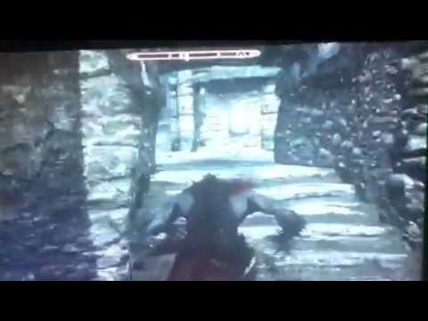 Skyrim- clearing a fort as a werewolf