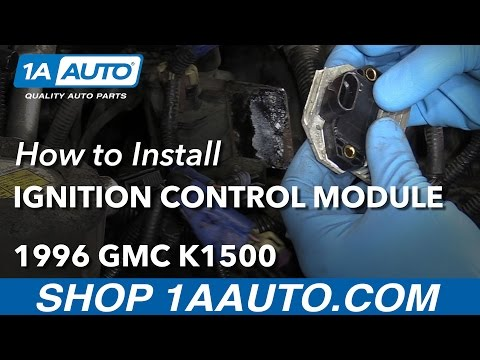 How to Install Replace Ignition Control Module V8 5.7L 1996-99 GMC Sierra K1500
