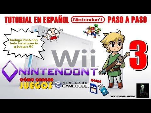 NINTENDONT | Tutorial Cómo Cargar Juegos Gamecube desde USB/SD en Wii o WiiU # 3 | 480p en Español