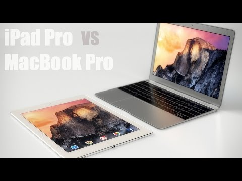 iPad Pro vs MacBook Pro 2015 - Comparison (Can You Use An iPad Pro as a Laptop?)