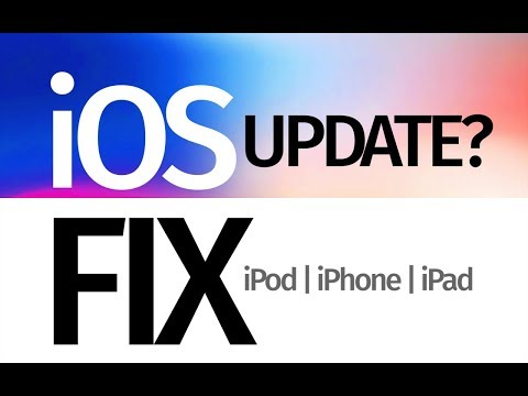 Why does my iPhone iPad iPod say it's up to date when it's not. iOS Update Fix