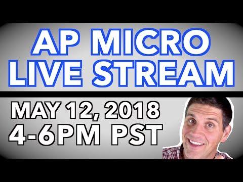 AP Microeconomics Review 2018- LIVE Stream