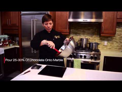 How To Temper Chocolate With Goemans Appliances & Chocolate Tales