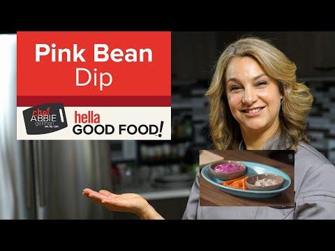 Bean Dip and Crudite