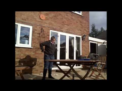 Time Lapse: Refurbishing The Outside Table