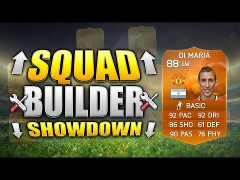 FIFA 15 SQUAD BUILDER SHOWDOWN!!! MOTM DI MARIA!!! Special TOTT Di Maria Fifa 15 Squad Builder Duel