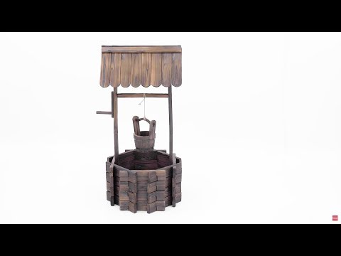 Assembly: Wooden Wishing Well (SKY2399)