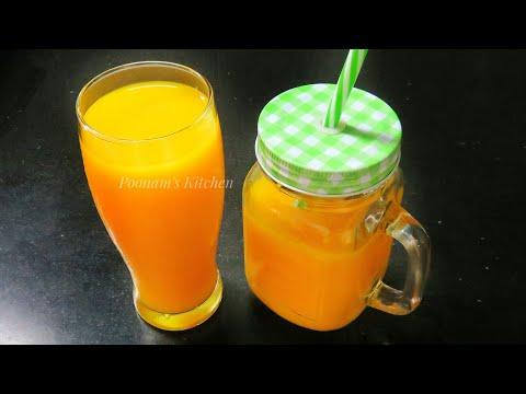 Homemade Mango Fruity Recipe - Summer Special Fresh Mango Juice/ Natural Mango Juice Recipe