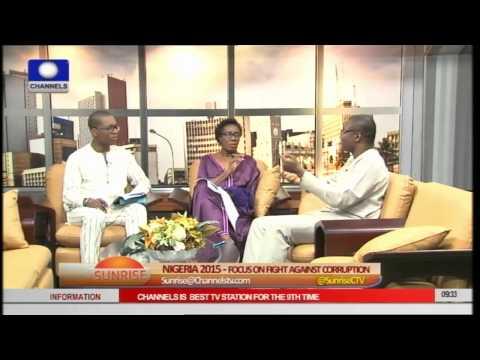 Sunrise Focuses On The Fight Against Corruption In Nigeria Pt 2