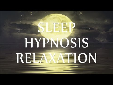 Sleep Hypnosis Relaxation Guided Talk Down for Insomnia (Calm Sleeping Music Soft Ocean Waves)