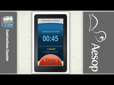 Contractions Counter app for Android to easily track and time your pregnancy contractions