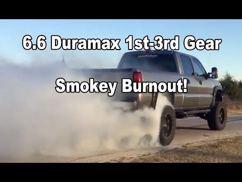 LBZ DURMAX Doing a big smokey 1st - 3rd gear Burnout!