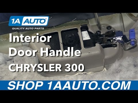 How to Install Replace Front Interior Door Handle 2006 Chrysler 300
