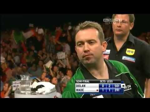 HQ - Brendan Dolan 9 Darter Double Start  Grand Prix Darts - Dublin 8/10/2011