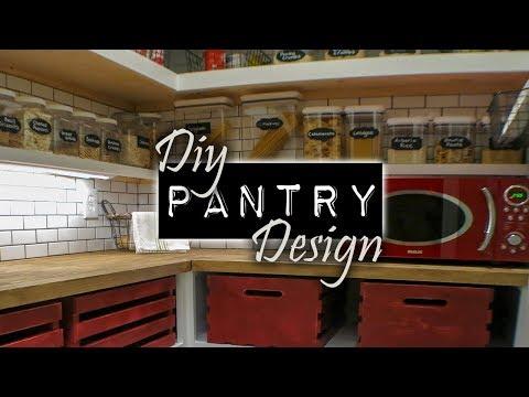 DIY Pantry Makever  DIY & Home Design
