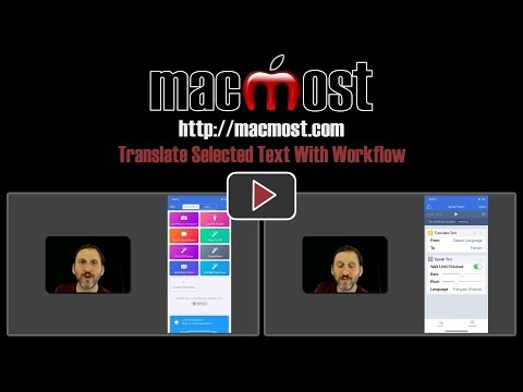 Translate Selected Text With Workflow (#1622)