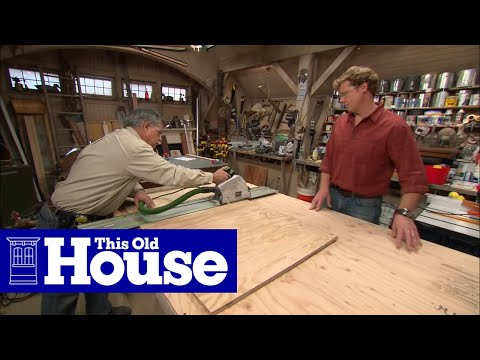 How to Build a Utility Cart - This Old House