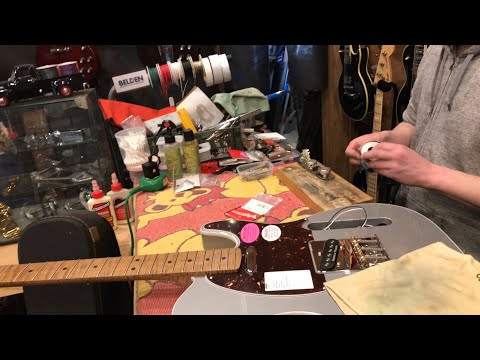 Warmoth Telecaster - Live - MULLY