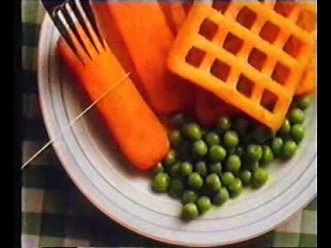 UKTV 80s Ad Birdseye Potato Waffles short