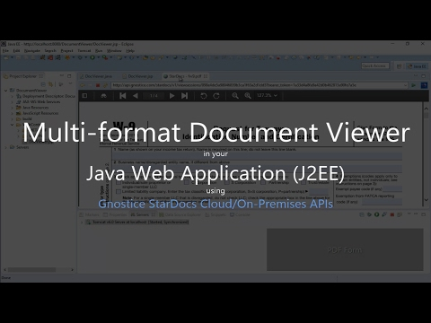 How to display PDF and Office documents in your Java Web Application (J2EE) using StarDocs