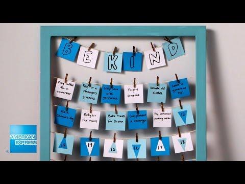 Kindness Calendar | Epic Everyday | American Express