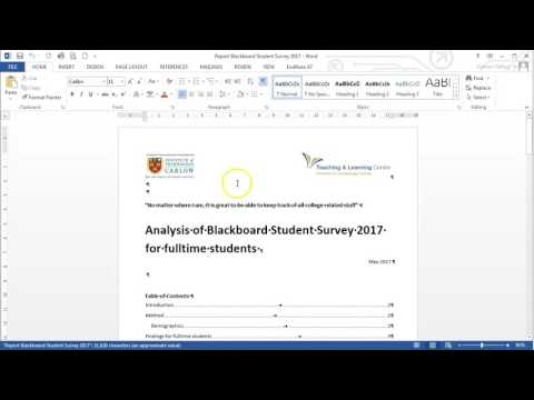 Opening a PDF document in MS Word