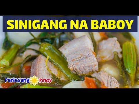 Sinigang na Baboy with Gabi