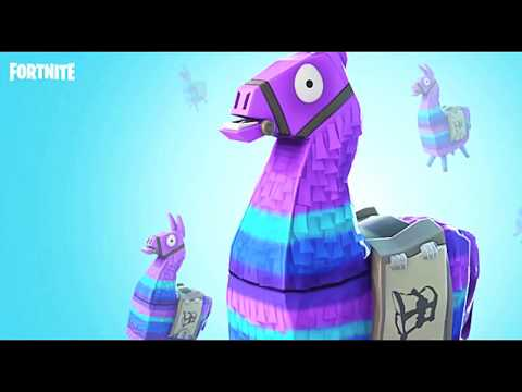 Fortnite Supply Loot Llama Cake - Designing the Llama Cake l How to Cook Craft Kids