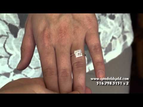 Princess Cut Diamonds: Size, Optics and Color