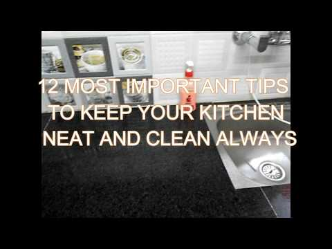 USEFUL KITCHEN TIPS : 12 MOST IMPORTANT TIPS/ TRICKS FOR CLEAN KITCHEN