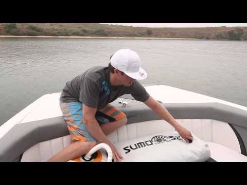 Straight Line Wakeboard Ballast System
