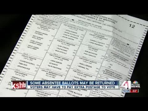 Voting absentee? Every stamp counts