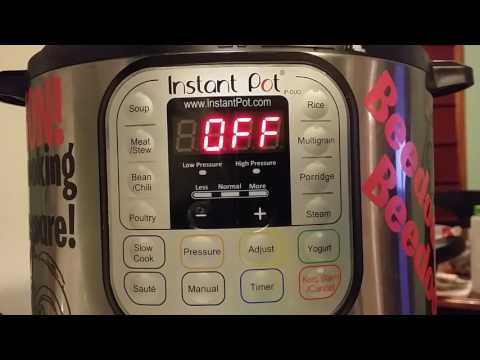 Instant Pot Buttons - Quick Tips - Keep Warm and Yogurt Functions