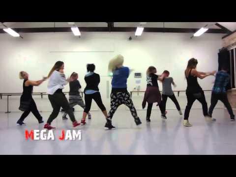 'Wiggle' Jason Derulo ft  Snoop Dogg choreography by Jasmine Meakin Mega Jam