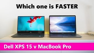 XPS 15 9560 Kaby Lake v MacBook Pro 15 Performance Review