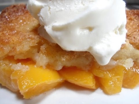 How to make Peach Cobbler - Easy Cooking!