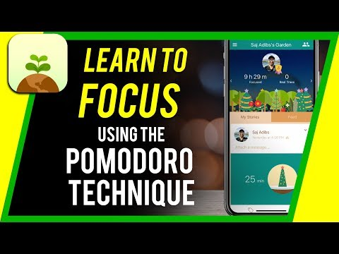 How to Stay Extremely Focused and Productive Using The Pomodoro Technique