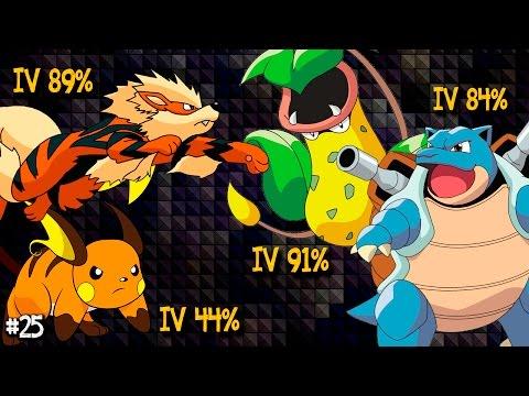 Pokemon Go Brasil - Level 30 - Evolução de Arcanine, Blastoise, Victreebell e Raichu! De IVs Altos!