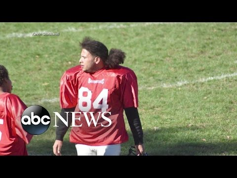 Adult Caught Suiting Up for Youth Football Game