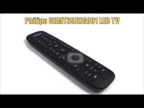 PHILIPS URMT39JHG001 LED TV Remote - www.ReplacementRemotes.com