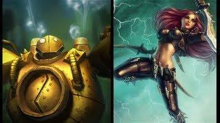 Pulling Katarina is Risky - League of Legends