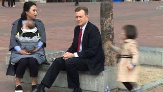 BBC interview dad laments online fame