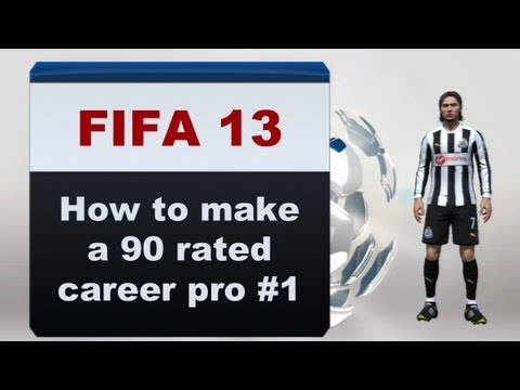 FIFA 16 - How To Make A 90 Rated Career Pro #1