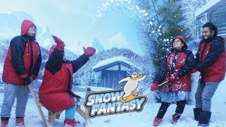 കോഴിക്കോട് മഞ്ഞ് പെയ്യുന്നത് കണ്ടോ? Snow Fantasy Snow Park, Kozhikode