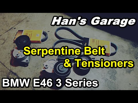 E46 BMW DIY Video - How to replace Serpentine Belts and Tensioners