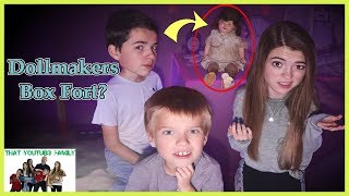 Strange DOLLMAKER BOX FORT ESCAPE Was It All A Dream? The DollMaker Part 5 / That YouTub3 Family