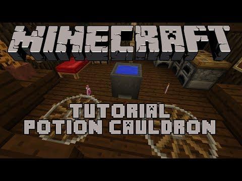 Minecraft :: Tutorial - Potion Cauldron
