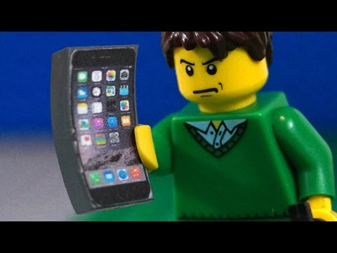 LEGO iPhone 6 Crazy Bend Test