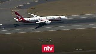 Rekordflug aus London landet in Sydney   n-tv